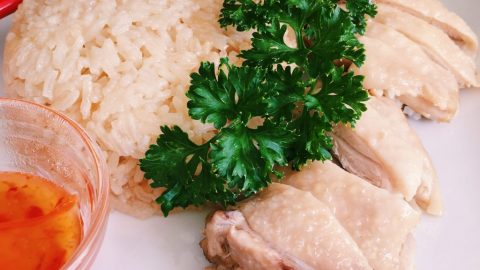 One Pot Hainan Chicken Rice Recipe Christie At Home