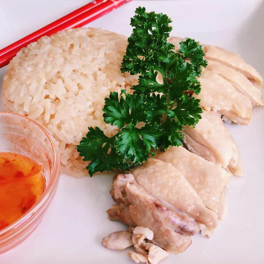 One-Pot Hainan Chicken Rice