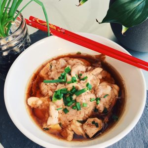 Asian Steamed Chicken