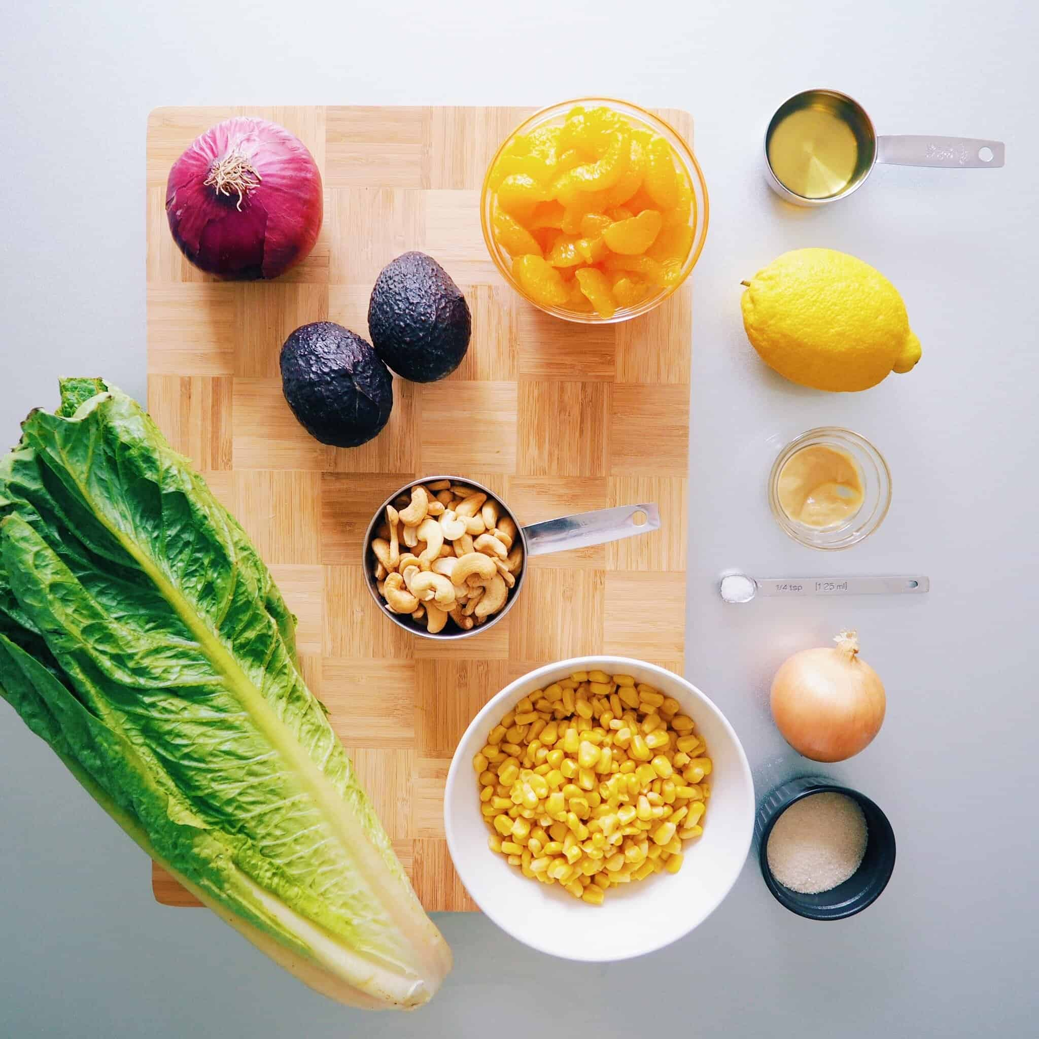 Mandarin Avocado Salad