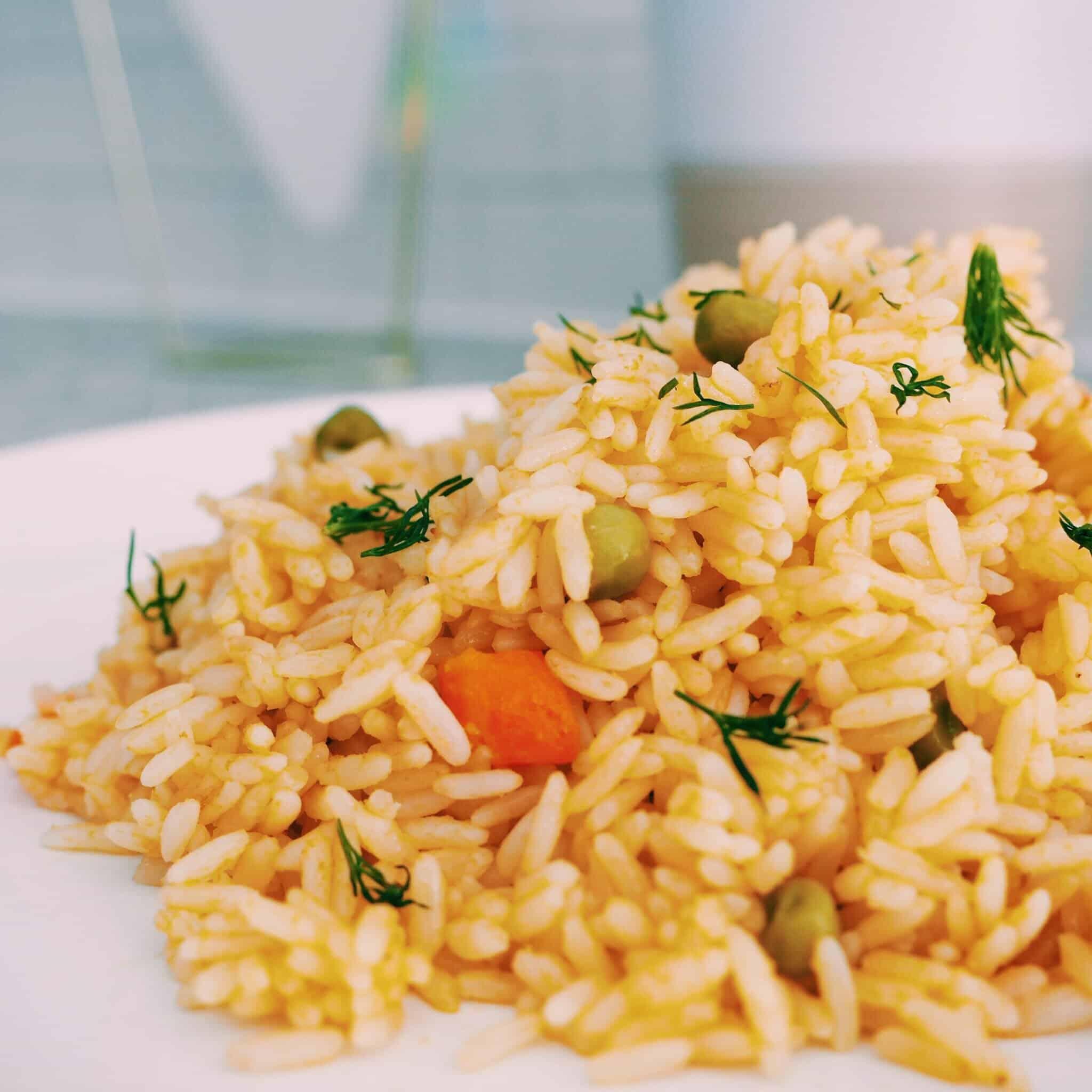 Vegan Greek Rice