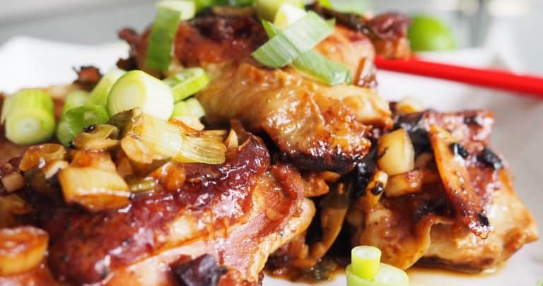 Green Onion Lime Chicken