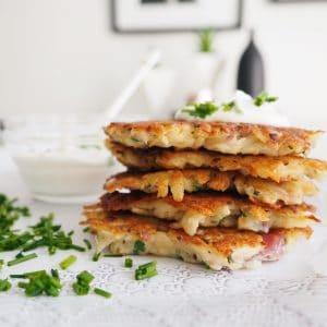 Potato Chive Latke