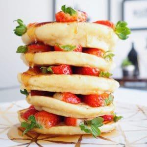 pandan pancakes
