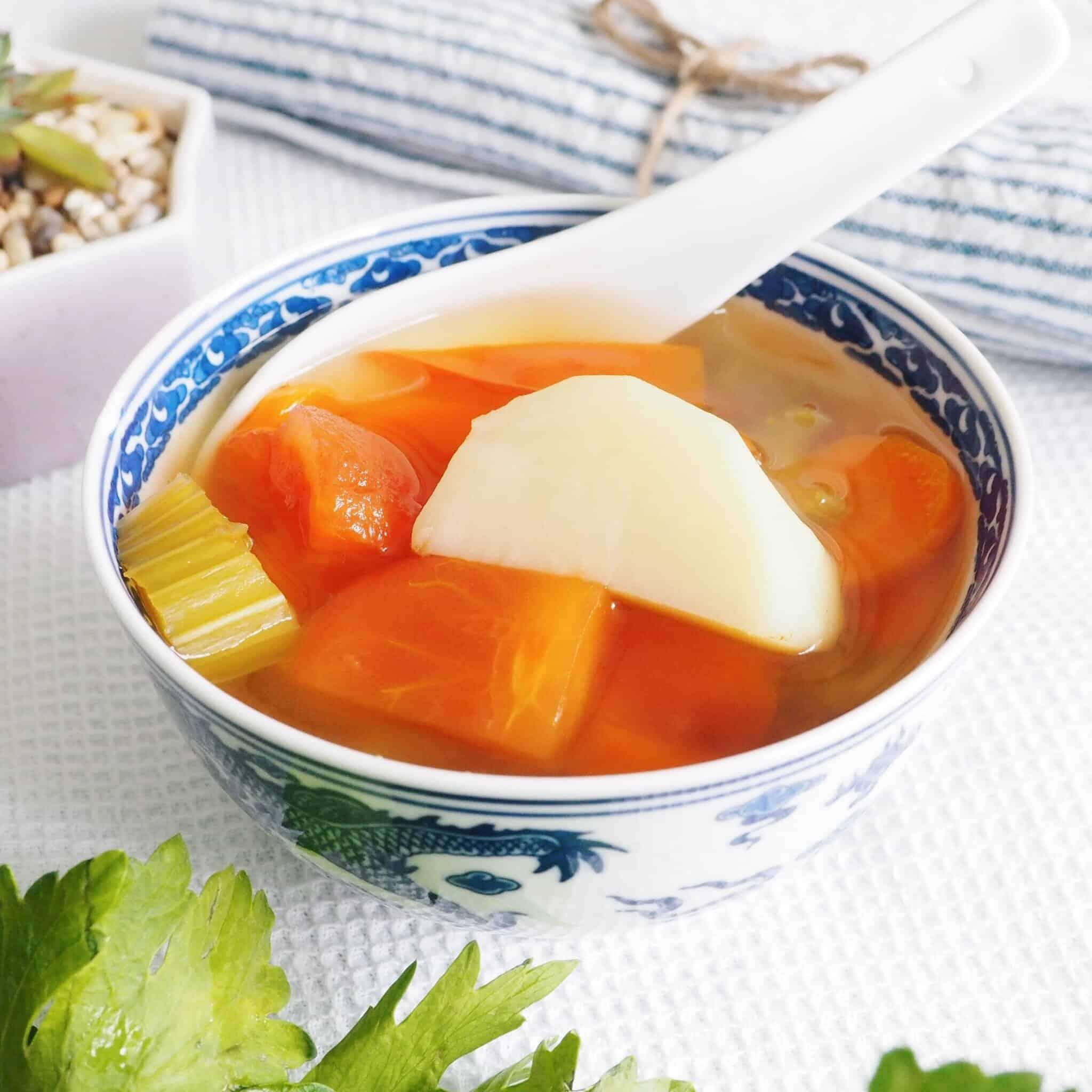 Vegan Potato Vegetable Soup