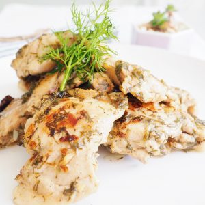 dill lime chicken