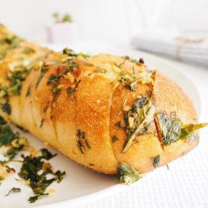 vegan herb garlic bread