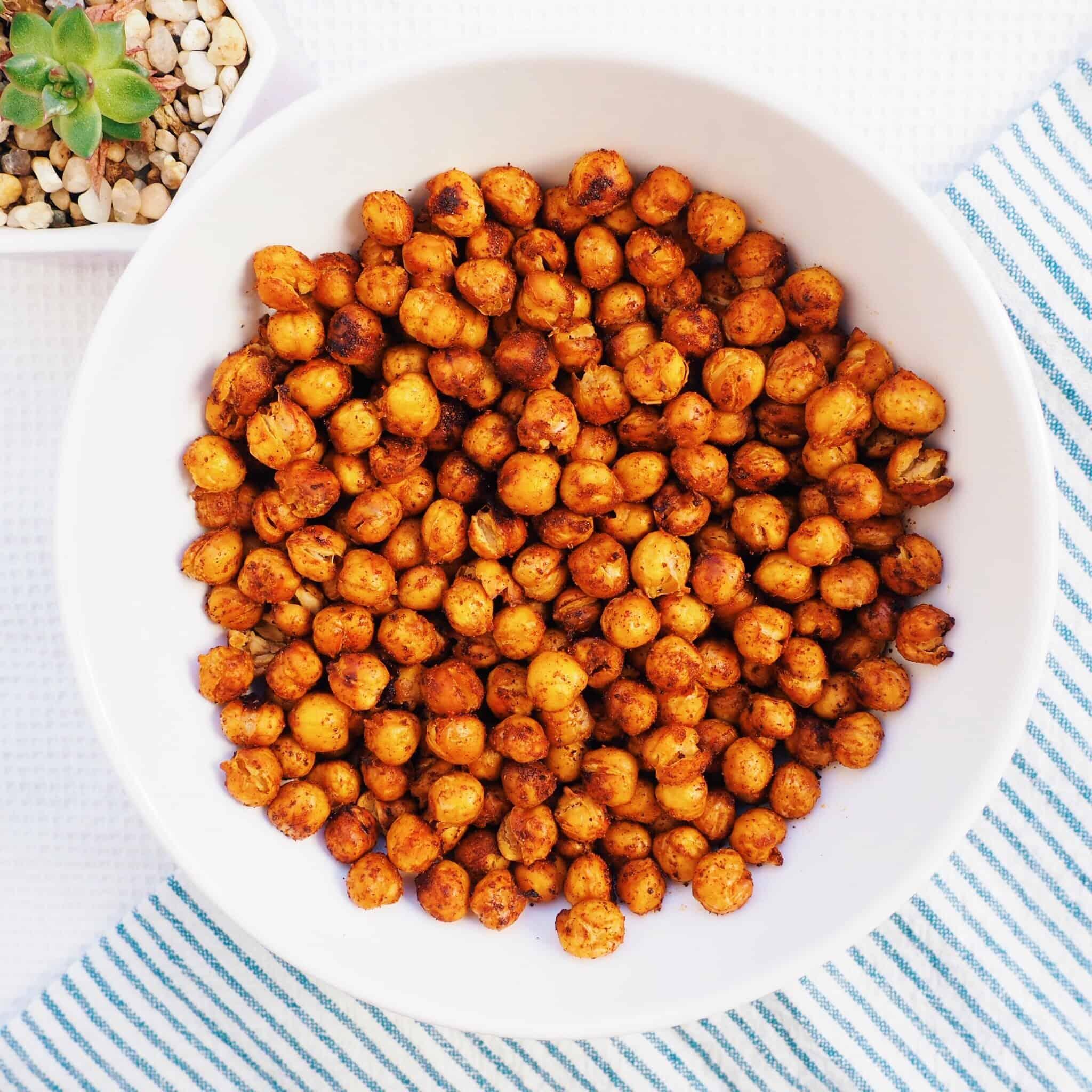 Roasted Garlic Paprika Chickpeas