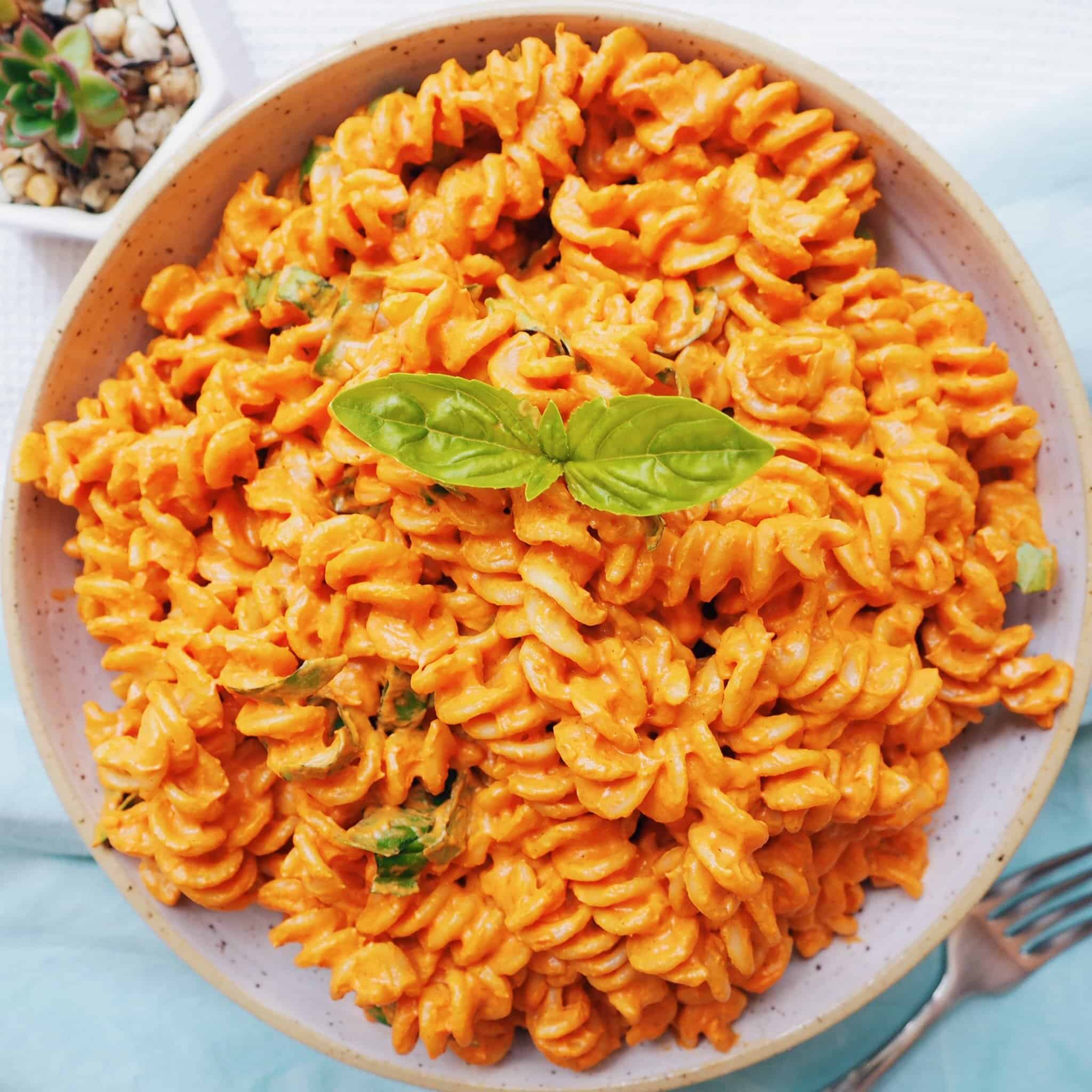 roasted red pepper tomato pasta