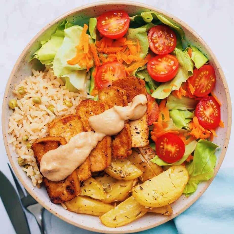 Greek Tofu (Vegan & Easy Recipe) - Christie at Home