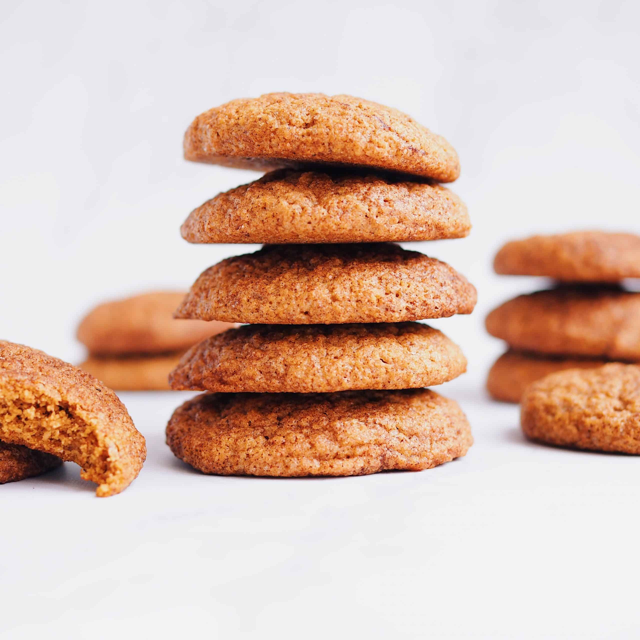Vegan Cinnamon Oat Cookies