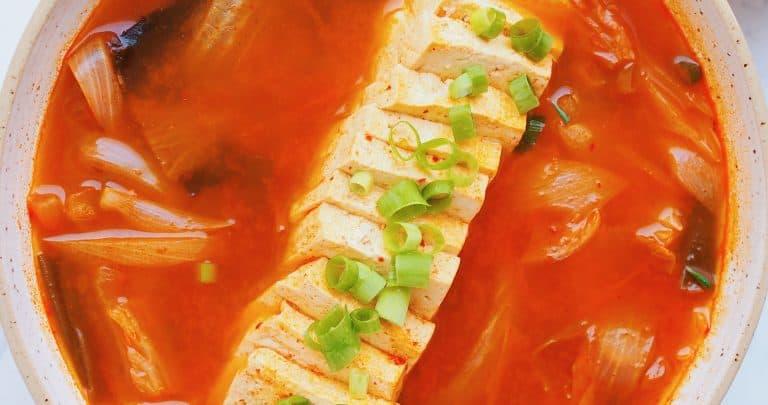Vegan Kimchi Tofu Stew