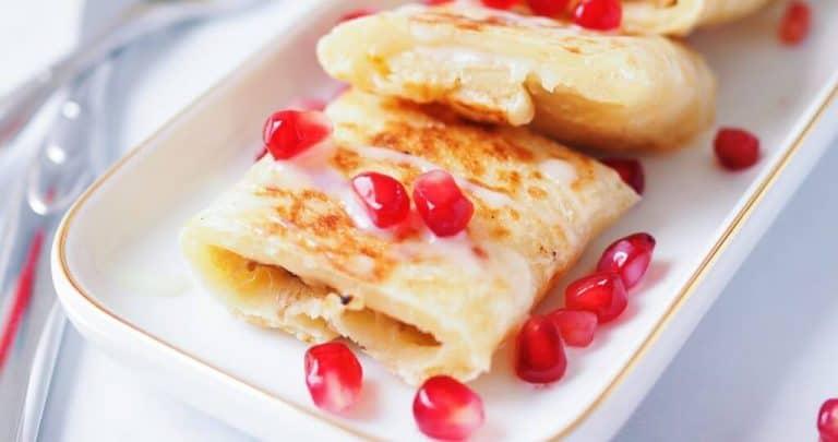 banana thai pancake