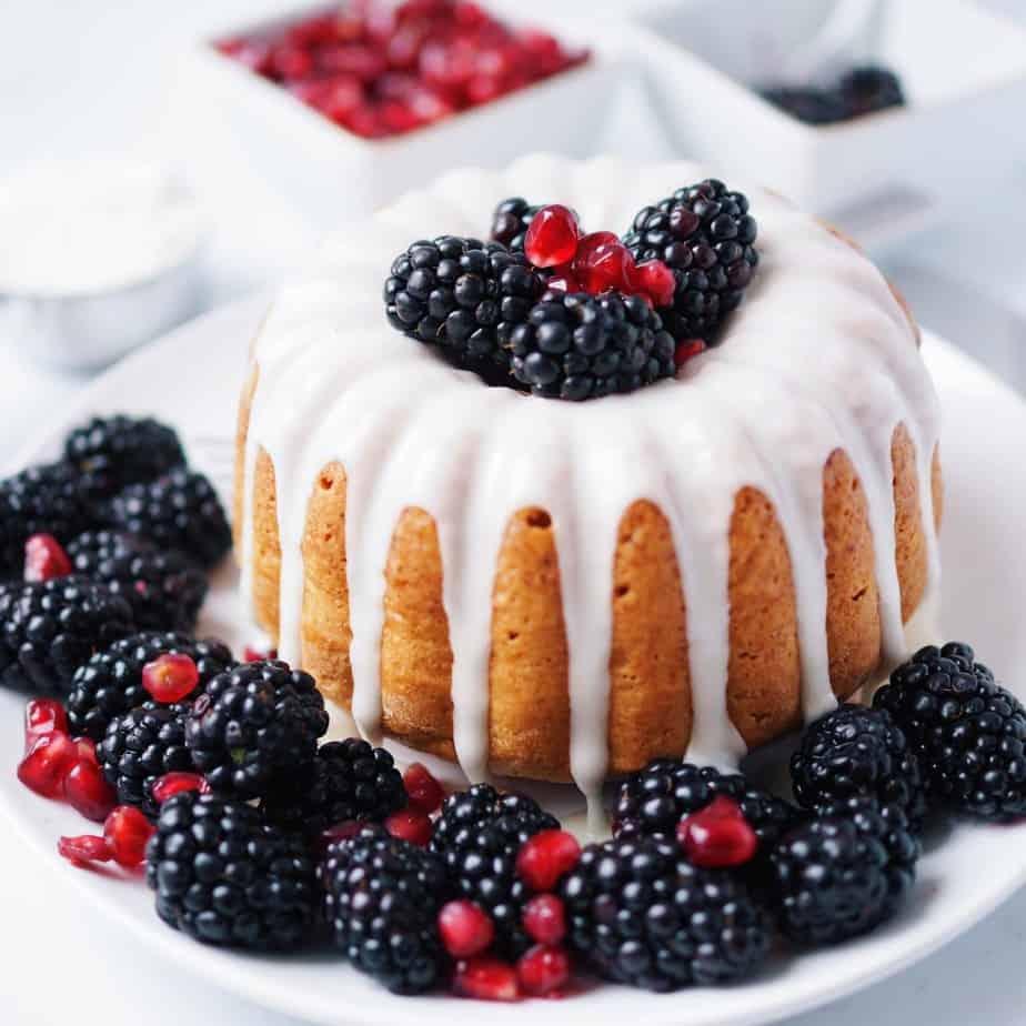 Dairy-free vanilla bundt cake