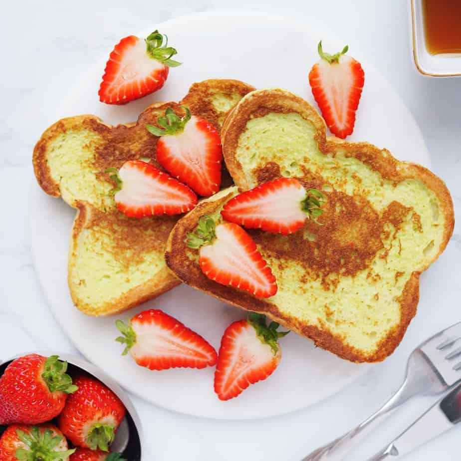 Pandan French Toast
