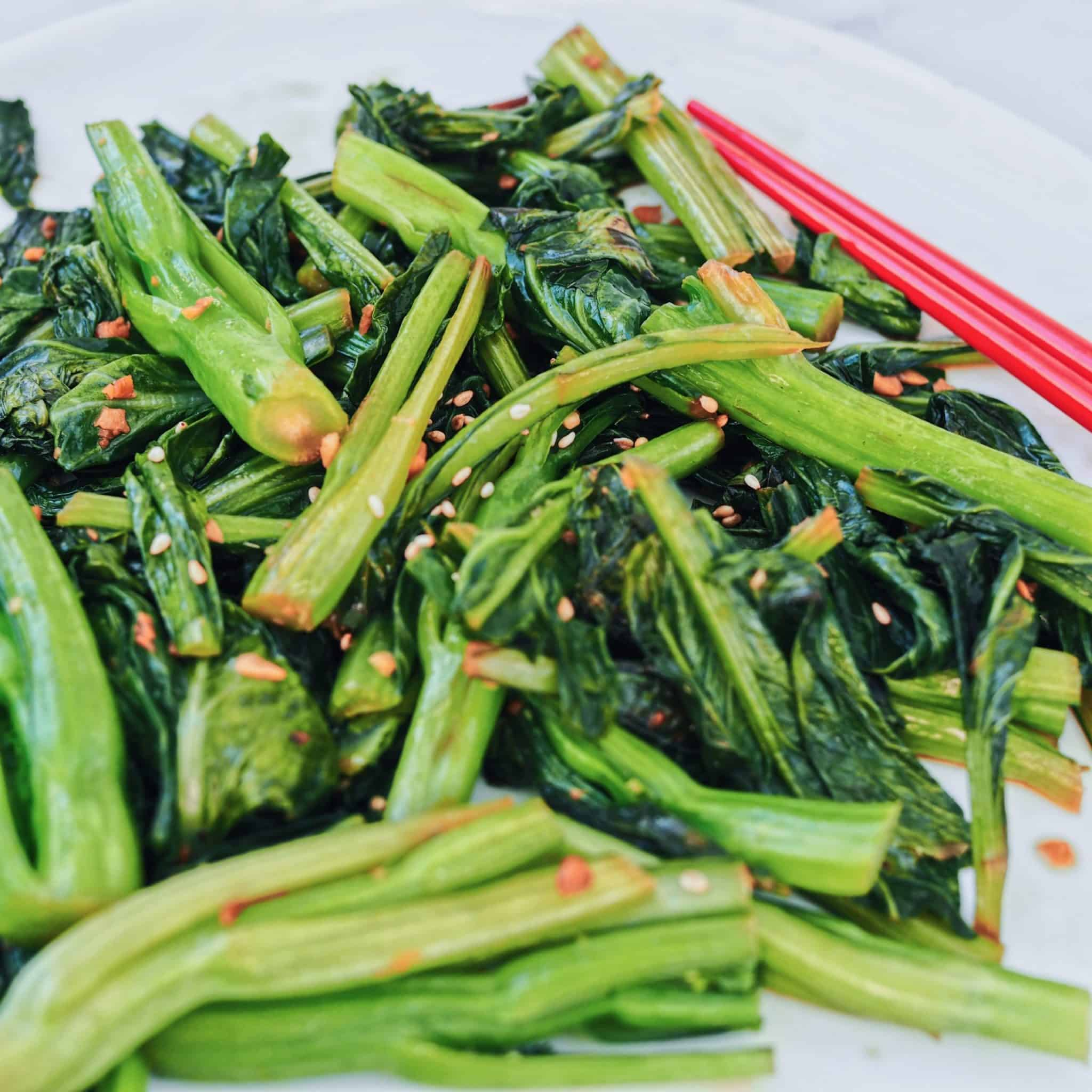 Chinese Garlic Yu Choy