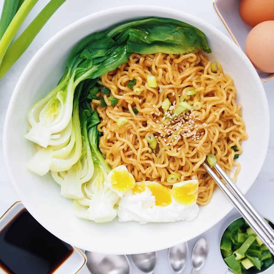 Stir Fried Ramen for One Recipe