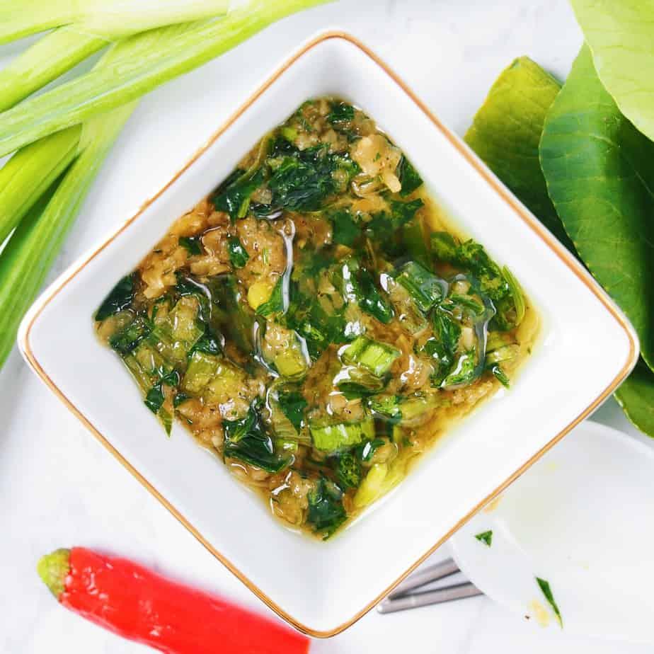 Chinese Green Onion Sauce
