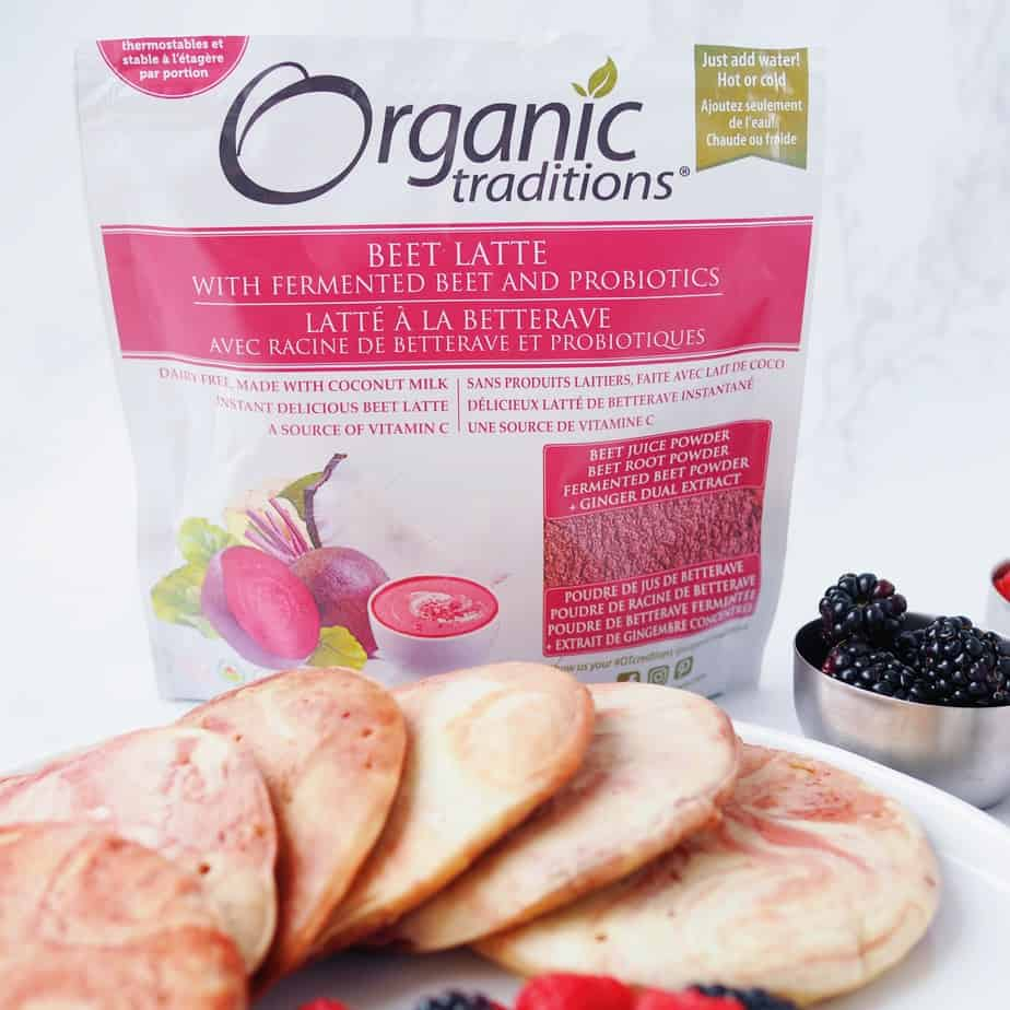 Organic Traditions Beet Latte Mix