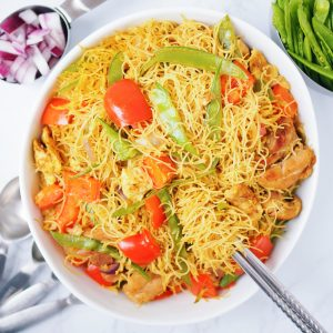 Singapore Curry Vermicelli
