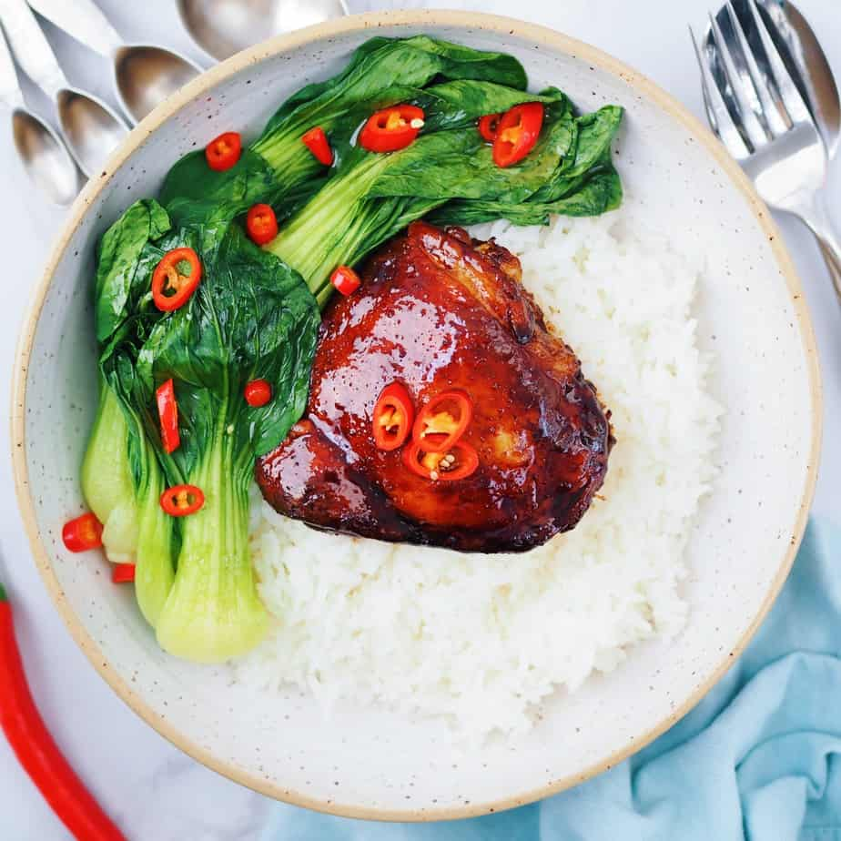 Soy Maple Glazed Chicken