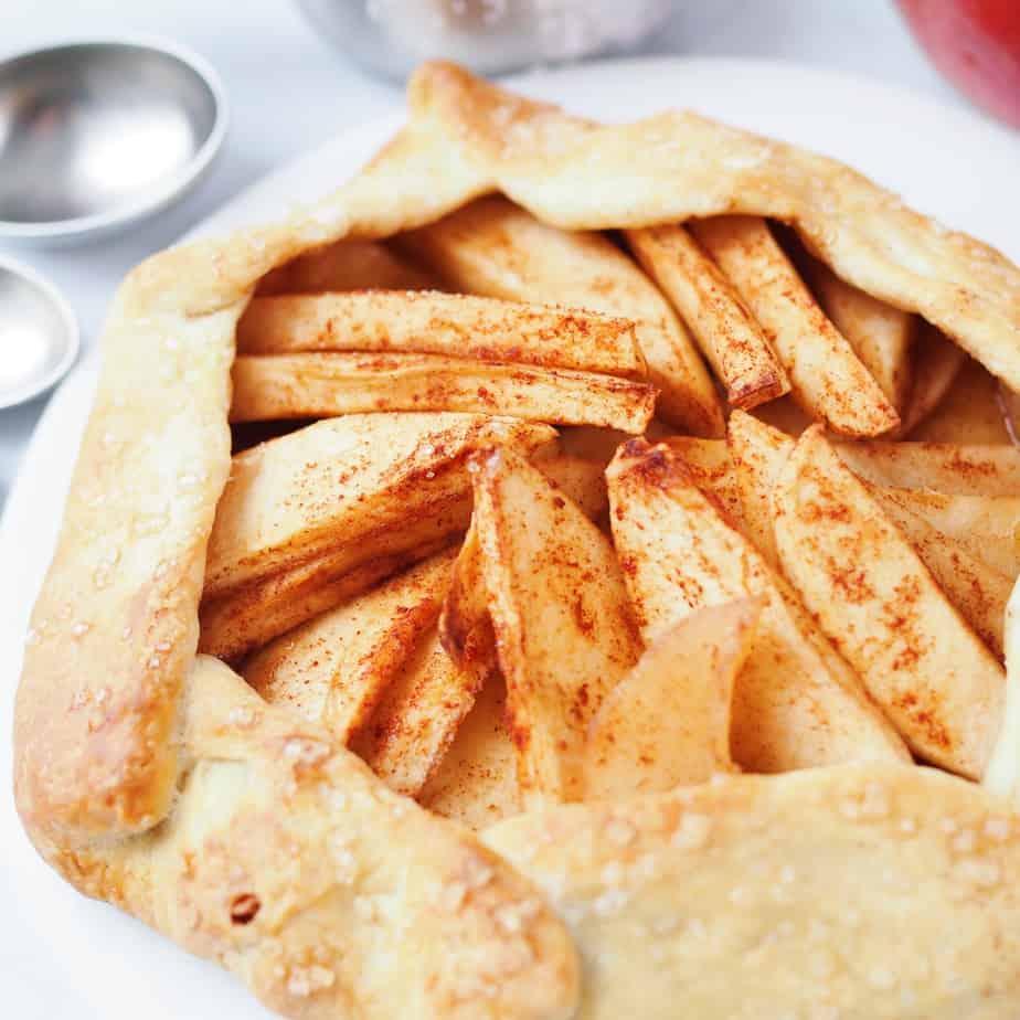 Vegan Gluten-Free Apple Galette