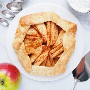 Vegan Apple Galette