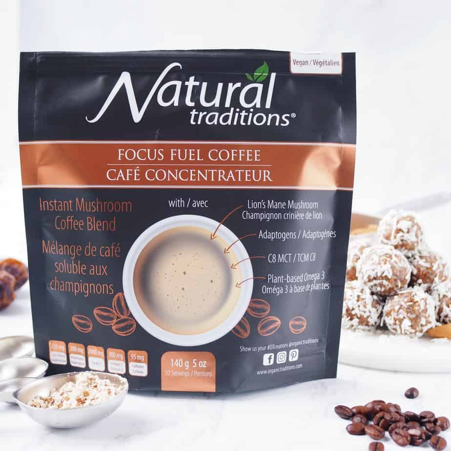 Organic Traditions Focus Fuel Coffee Mix