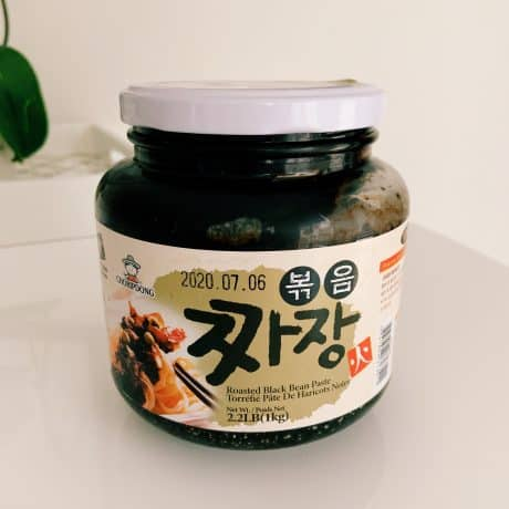 black bean paste
