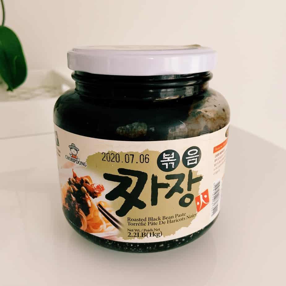 Korean Roasted Black Bean Paste