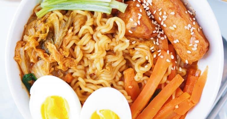Rabboki Korean Sweet Spicy Ramen