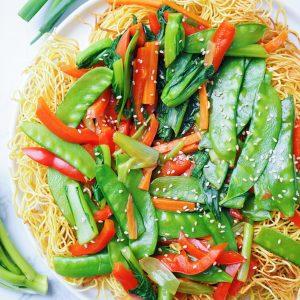 Cantonese Veggie Chow Mein
