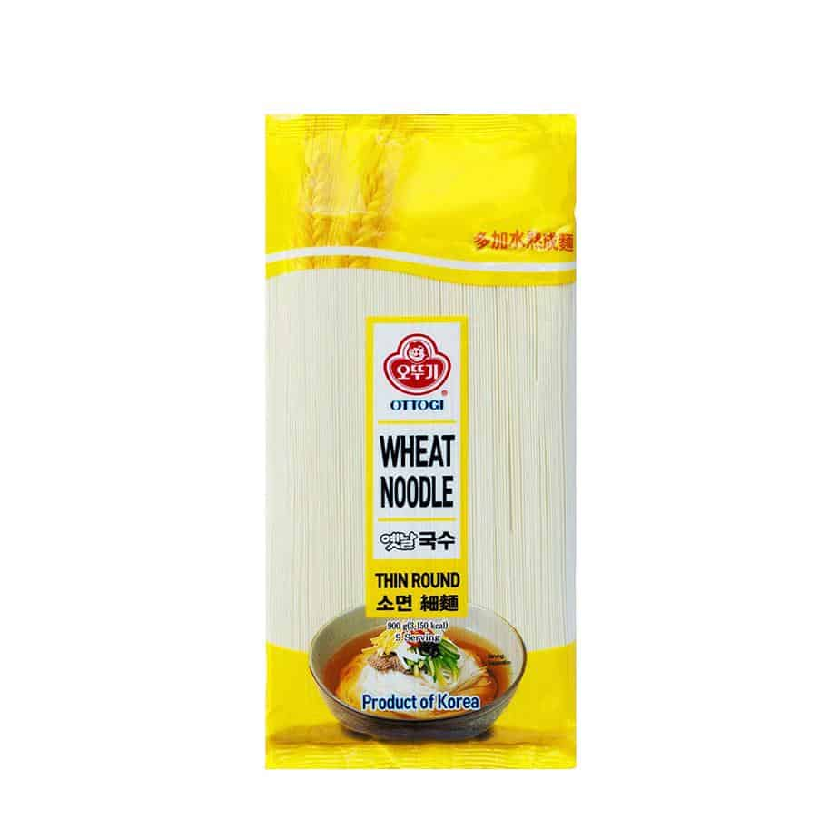 Korean Wheat Noodles
