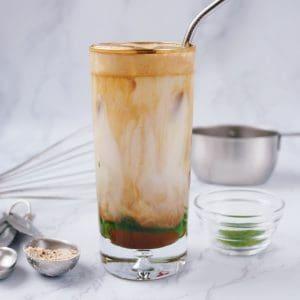 Iced Military Coffee