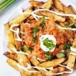Vegan Kimchi Fries