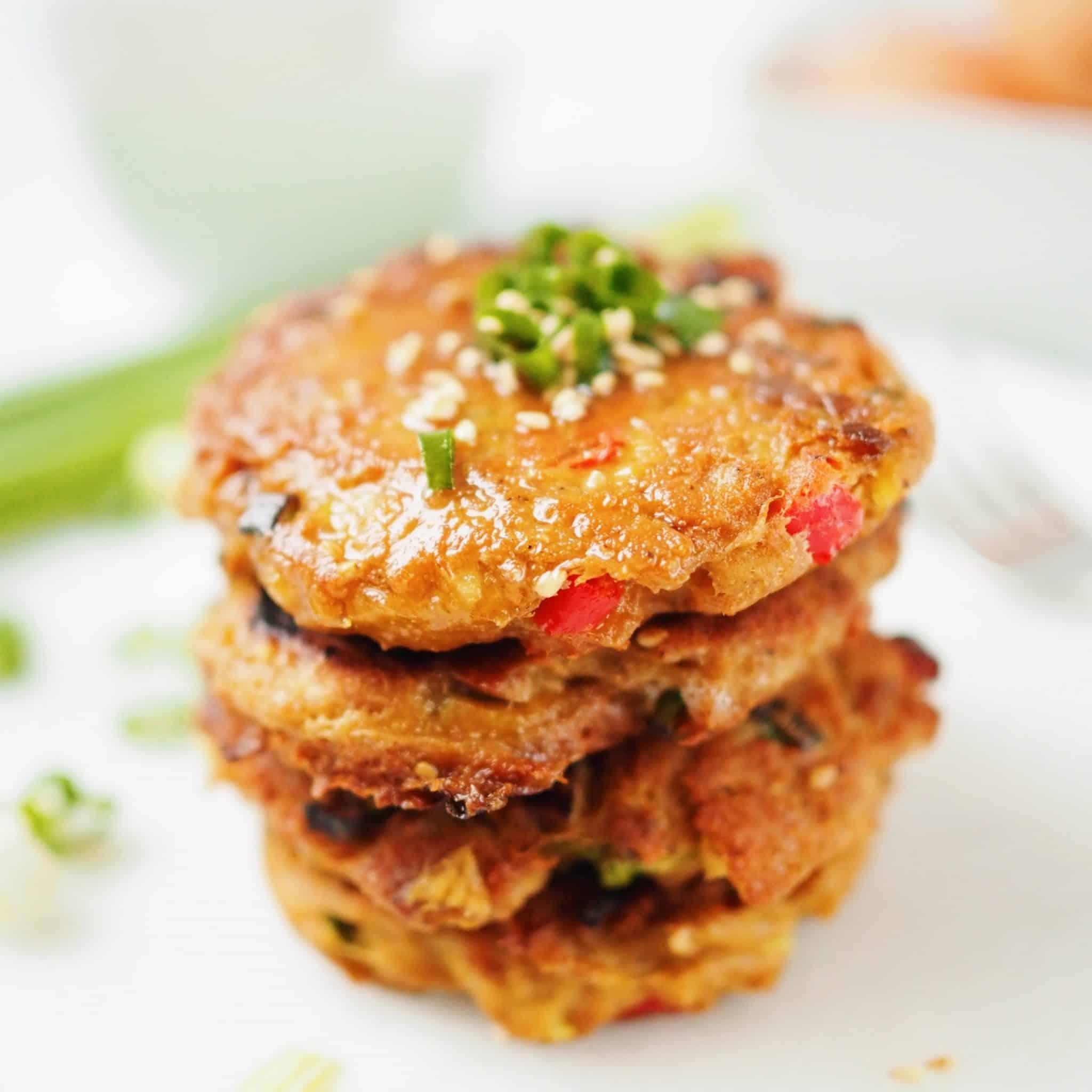 Korean Tuna Cakes