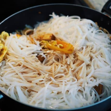 Tofu Egg Pad Thai