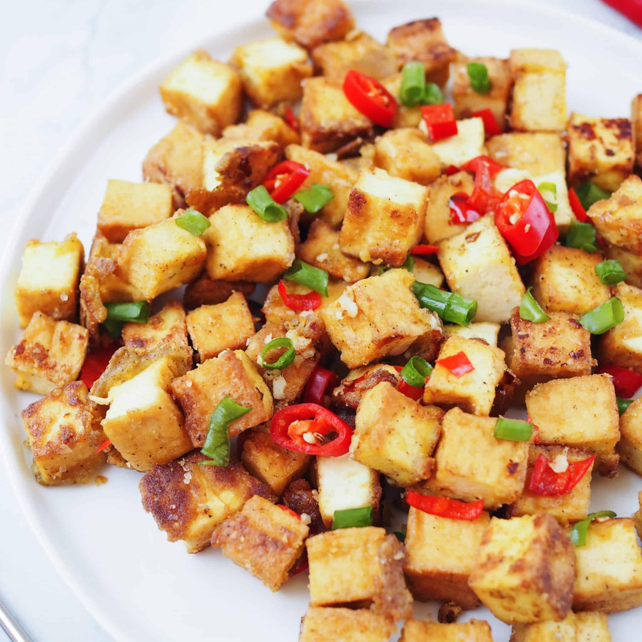 Chinese Salt & Pepper Tofu
