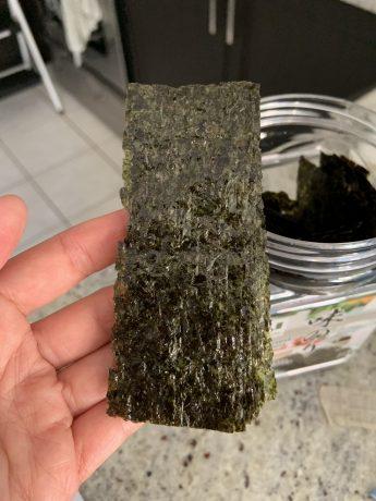 seasoned seaweed for Sesame Nori Fries