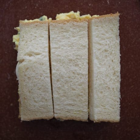 cut into thirds