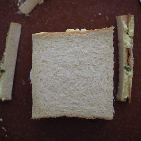 slice off crusts off