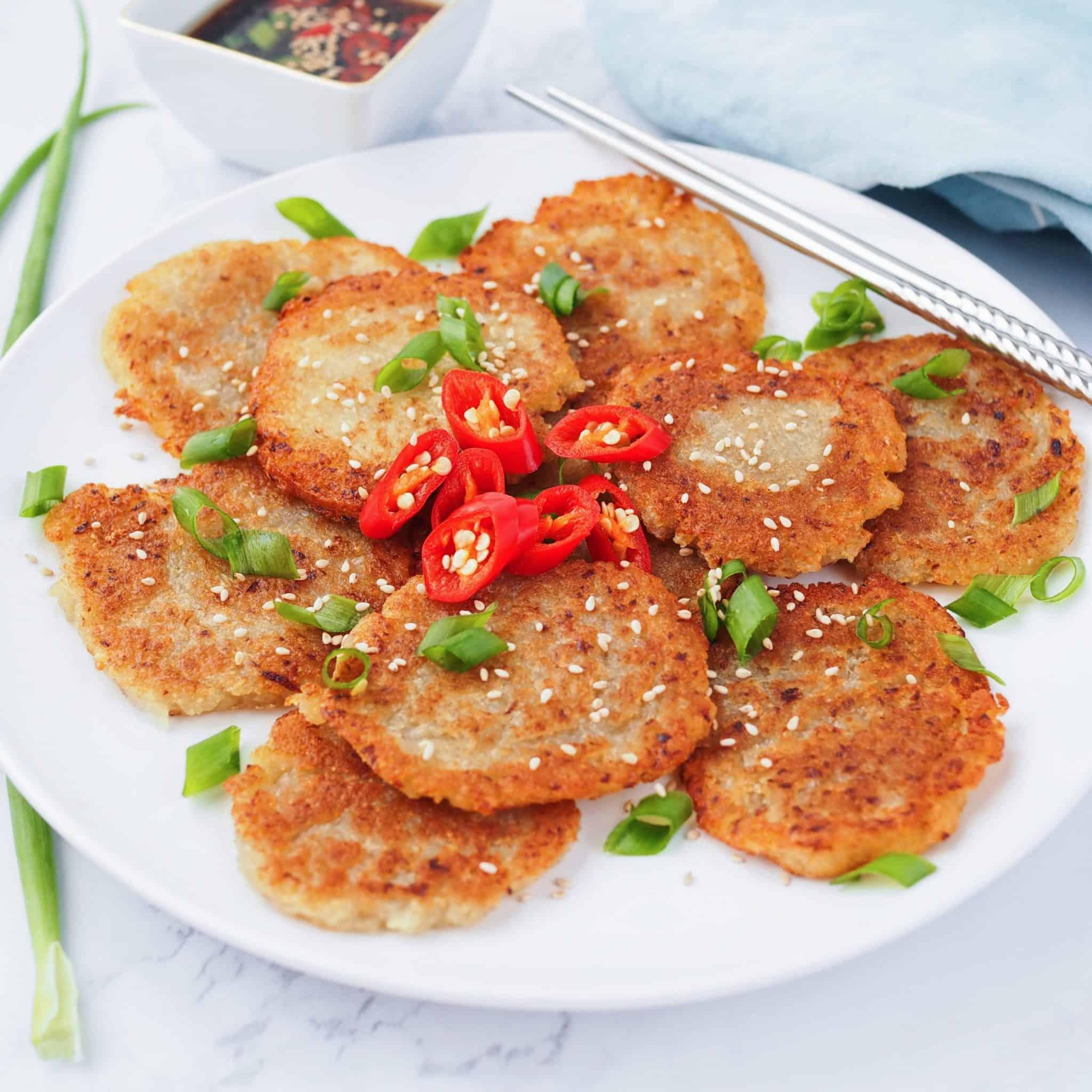 Gamjajeon (Korean Potato Pancakes)