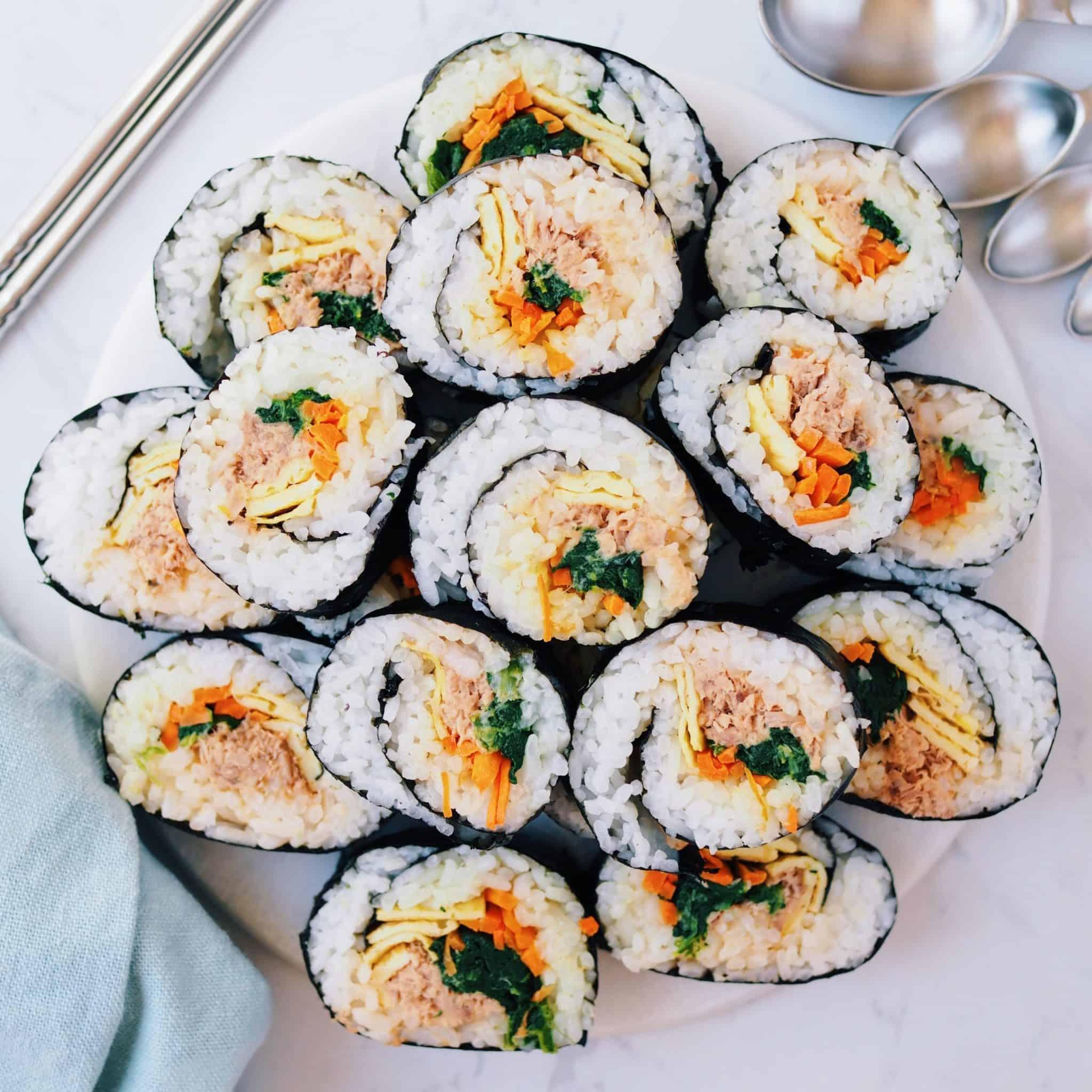 Spicy Tuna Kimbap