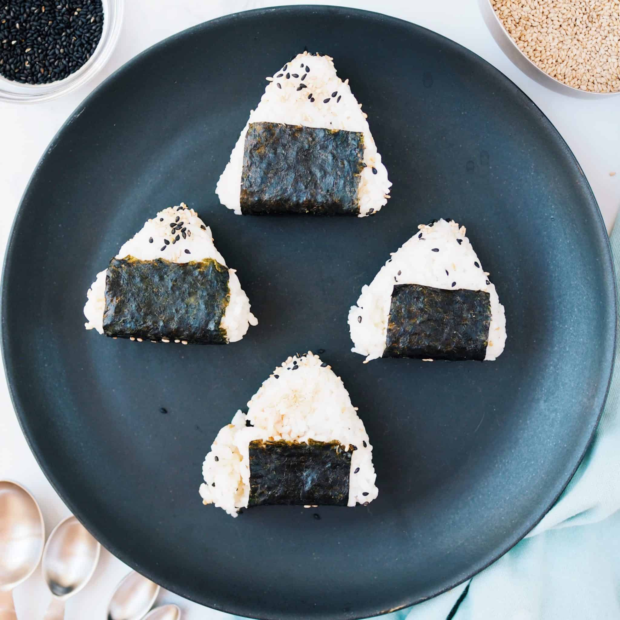 Japanese Tuna Onigiri