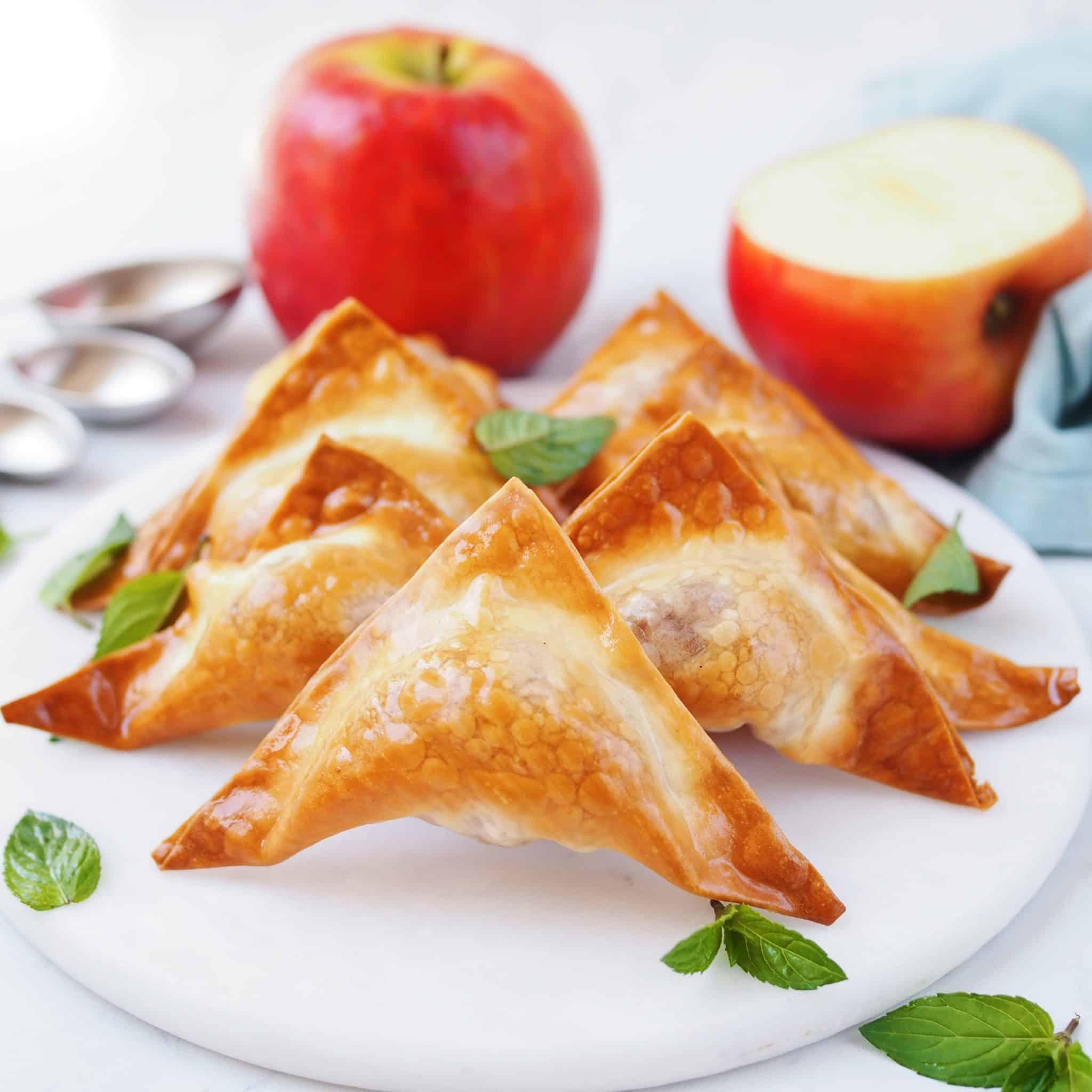 Apple Cinnamon Wontons