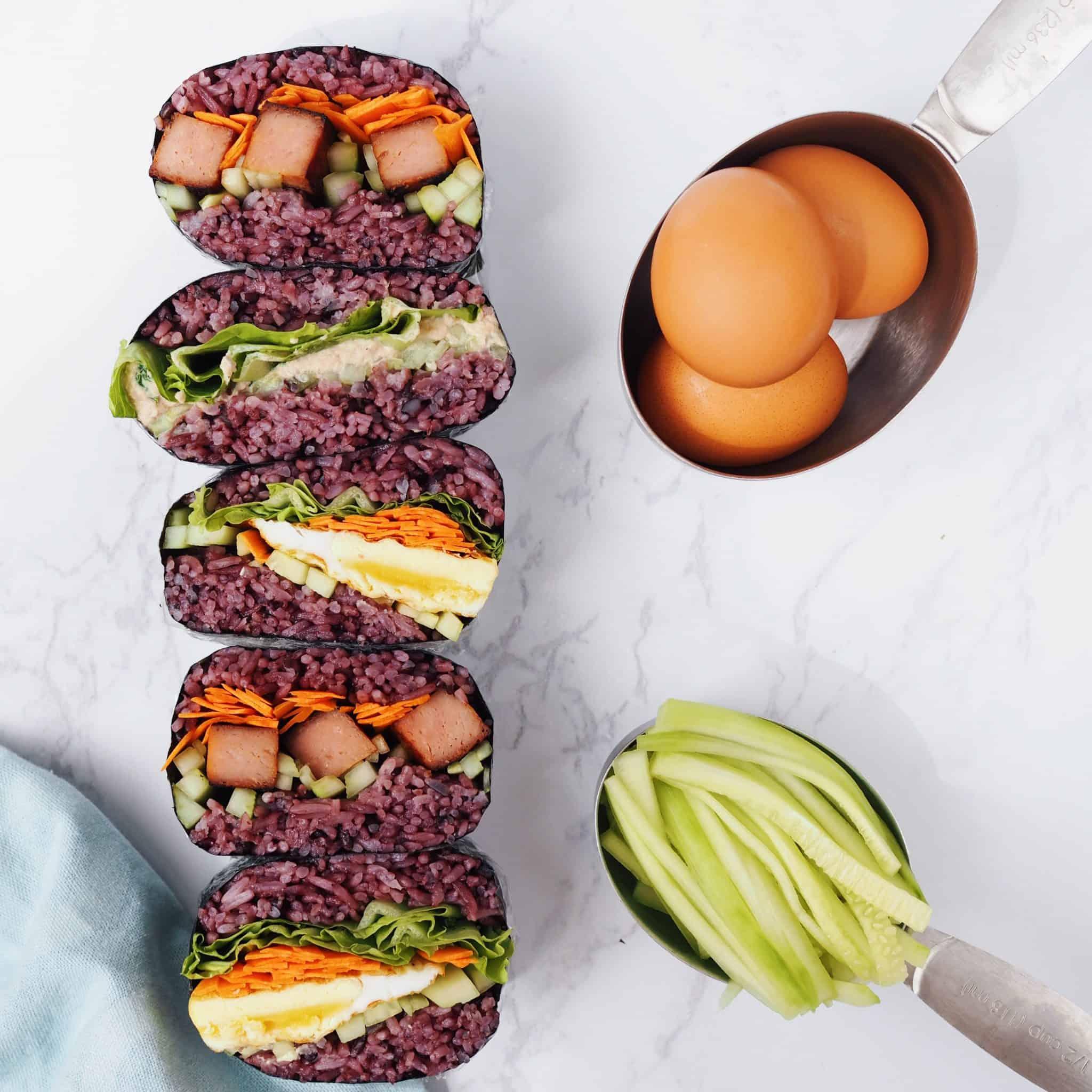 Onigirazu (Sushi Sandwich)