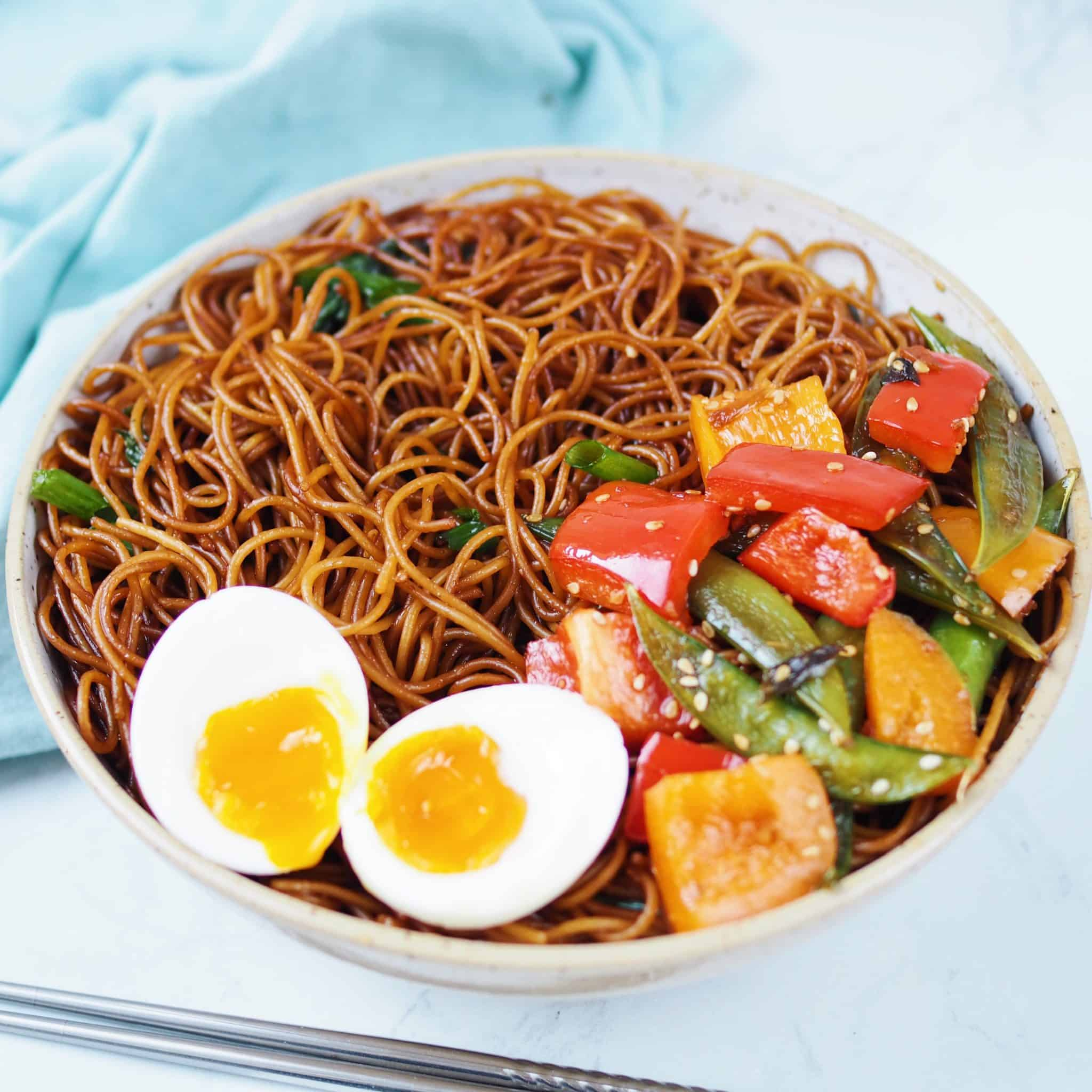 noodles with egg