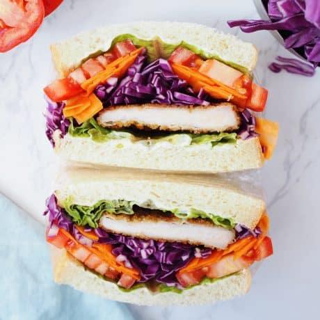 Japanese Wanpaku Sandwich