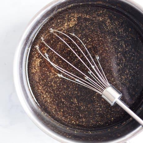 whisk marinade ingredients