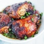 soy chicken thighs